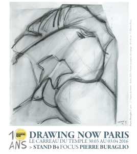 DRAWING NOW 30 mars- 3 avril 2016 / Galeries Jean Fournier STAND B4 + Catherine Putman STAND B3